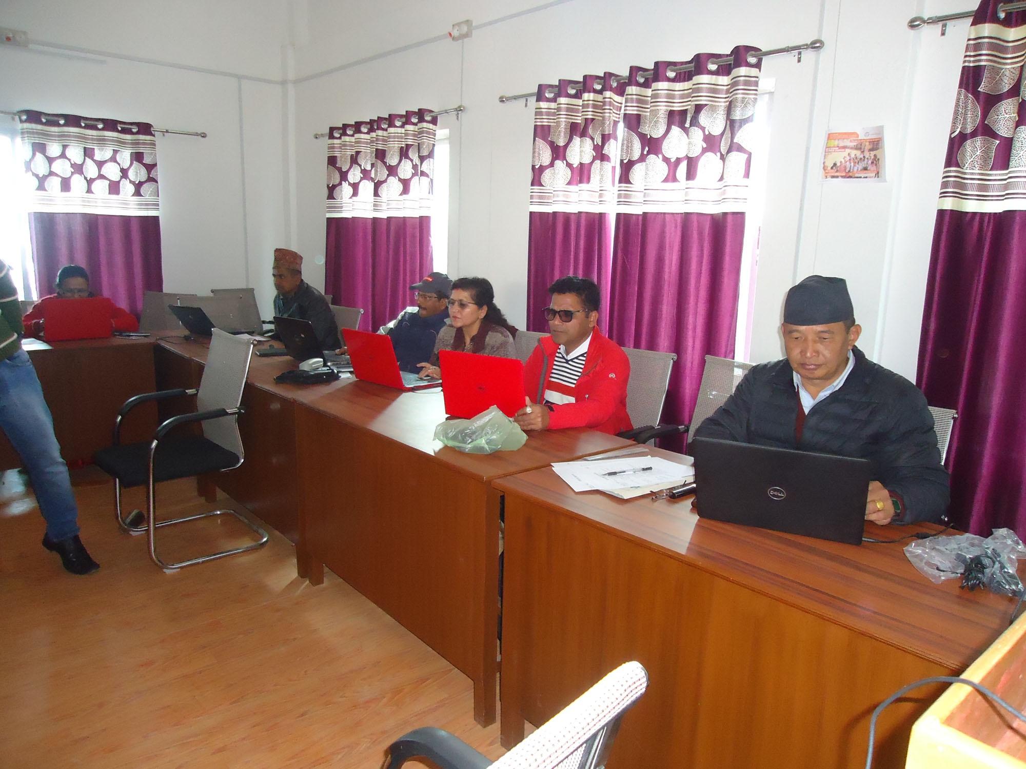 ICT EMIS सम्बन्धी अनुशिक्षण कार्यक्रम सम्पन्न